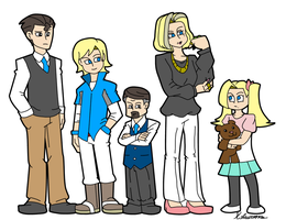 Zack's Family by ObsidianWolf7