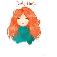Curly Hair by Somichii