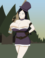 Who Fed Caitlyn? (League of Legends) by PheromoneQueen