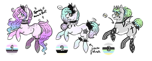 Pony Adoptable Auction 1: CLOSED by Lunar-Sugar