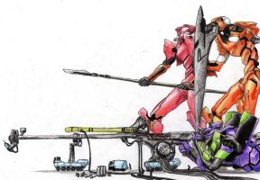 Evangelions by turis2gutz
