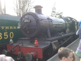 GWR Pitchford Hall steam loco by YanamationPictures