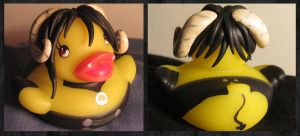 Demon Sebastian Duck by spongekitty