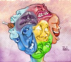 Seven Deadly Drabbles by BoKaier