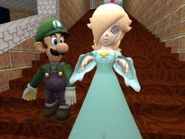 Luigi The Lady's Man: Rosalina by VG-MC