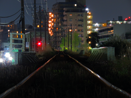 Rails to Nowhere by L-Spiro