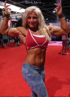 Marvelous Marla Maria At 2014 Olympia by zenx007