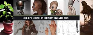 Concept Cookie Weekly Livestreams! by ConceptCookie