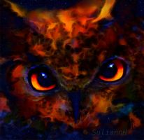 Magic Owl's Head by SuliannH