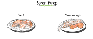 Saran Wrap... by Terraced-Fields