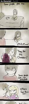 My characters are like.. .. by Pirate-Reaper