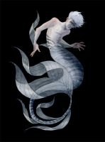 Silver Merman by reneenault