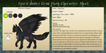 Spirit Wolves App Crow Face by The-Clockwork-Crow