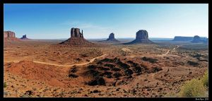 Monument Valley 01 by DarthIndy