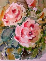 Roses from my garden by lapoall