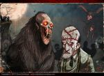 VAMPANZEE and his GHOUL by Hartman by sideshowmonkey