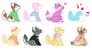 Adoptables i guess NAME YOUR PRICE by oubs