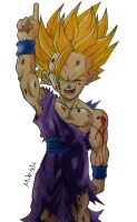 Gohan SSJ2 by MikeES