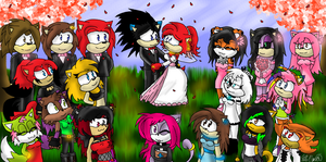 Wedding :D:D:D:D by Daft-punk-girl2