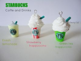 Starbucks Charms by LitsaHut
