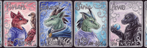 Creatures of Basefira ACEO by Sysirauta