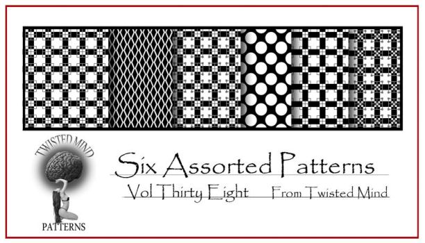 Twisted Mind Assorted Pattern Set 38 by Textures-and-More