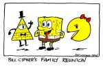 Bill Cipher's Family Reunion by kurtoons