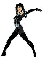 TRON Legacy - Quorra by Nia90