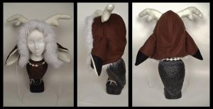 Deer Hood by Mermade4u