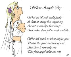 When angels cry by bkdesign