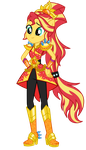 [Legend of Everfree] Sunset Shimmer by MixiePie