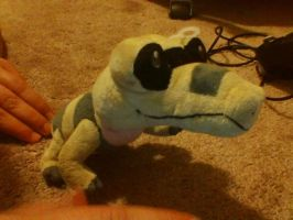 My Sandile Plush by PokeLoveroftheWorld