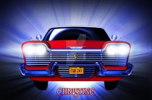 CHRISTINE'S FURY by ERIC-ARTS-inc