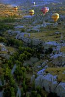 Sunrise over Cappadocia 4 by CitizenFresh