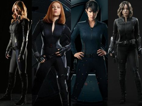 4 Agents of S.H.I.E.L.D. by Shulkie