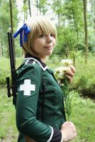 Flowers against war [Liechtenstein] by Tenshiii3