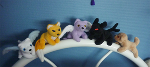 Current magnet plushies by goiku