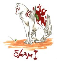 OKAMI Ammy by BlizzardComics
