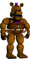 A good unwithered Fredbear by Tristan095