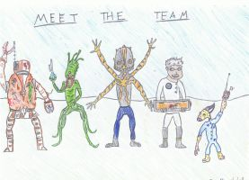 Meet the Team by Pyrovilekiller
