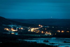Small Town Bright Lights by steverankin