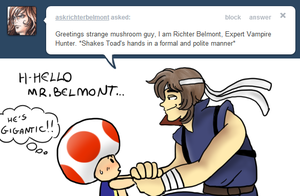 Tell Toad - Hello from Richter B by pocket-arsenal