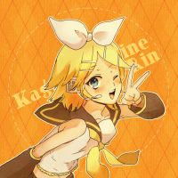 Vocaloid:: Rin by kissai