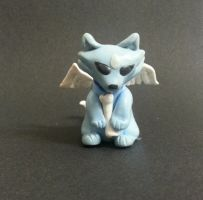 Little Angel Wolf (sculpt) by WolvesnRavens