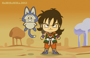 DRAGONBALL.. Yamcha and Puar by SaMtRoNiKa