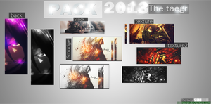 Pack 2013..The taegr by taegr