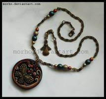 butterfly necklace by morho