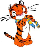 Chris Sanders Tiger by SydneyNicole