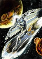 Silver Surfer by acir