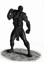 Noob Saibot Ultimate MK3 by Ronniesolano
